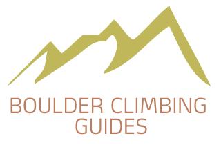Boulder climbing guides logo
