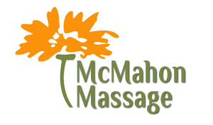 Graphic design example- a logo for McMahon Massage
