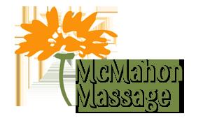 Graphic design example- a logo for McMahon Massage