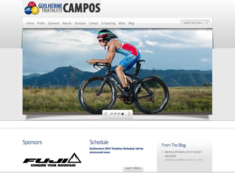 Triathlete Website