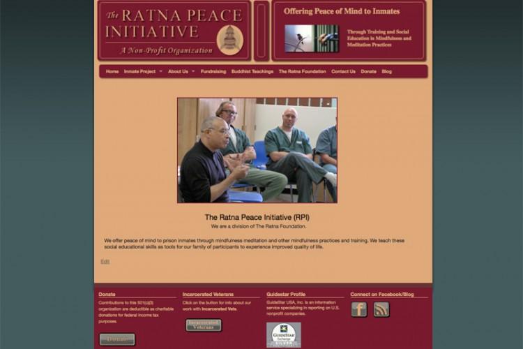 Buddhist Non Profit Website